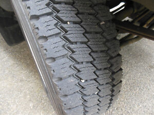 4 Michelin XDS2 Deep Lug Commercial Truck Tires 245/70/19.5