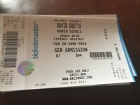 David Guetta Ticket-JUST SOLD
