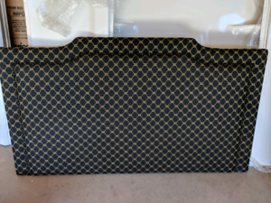 King custom upholstered head board
