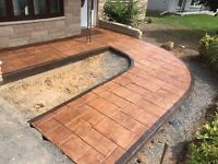 STAMPED CONCRETE at an UNBEATABLE price!