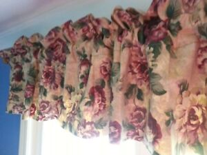 assorted curtains