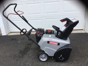 ******CRAFTSMAN SNOWBLOWER LIKE NEW! REDUCED...... $300.00******