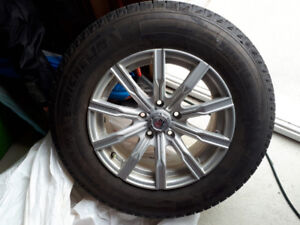 Winter tires and winter mags package