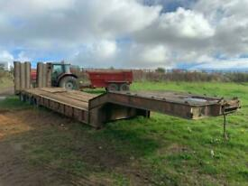 ANDOVER SFCL 46 Low loader trailer