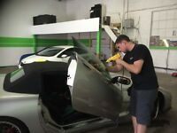 Oakville window tint , pick up drop off service