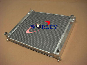 Z32 300ZX 3 row 56mm for Nissan Aluminum Radiator Z32 turbo
