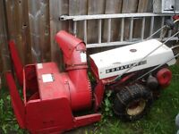 SOUFFLEUSE GRAVELY 10HP COMMERCIAL NEGOCIABLE