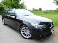 2005 BMW 5 Series 530d M Sport 5dr Auto Pan Roof! Full Leather! 5 door Estate