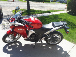 Very clean cbr 250 for sale