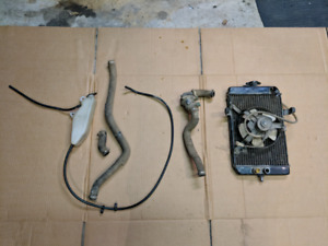 Raptor 660 radiator & fan ; thermostat and hoses
