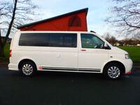 2007 07'reg VW T5 Transporter 1.9 TDi LWB Campervan**Pop Top Roof**4 Berth***