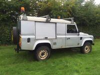Land Rover defender 110 2.4tdci puma county pack 2008 registered no vat!! Utility 4x4 3500