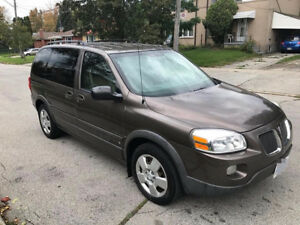 2008 Pontiac Montana Leather  seats and DVD Minivan, Van