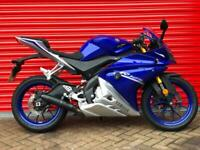 2018 YAMAHA YZF R125 ABS BLUE LEARNER LEGAL 2400 MILES--DELIVERY AVAILABLE PX