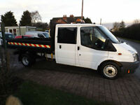 2009 09 Ford Transit Double Cab Tipper 35,000 Miles Ex Council