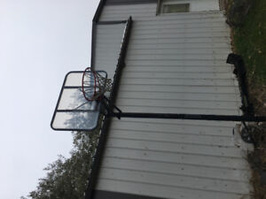 Basketball net - freestanding