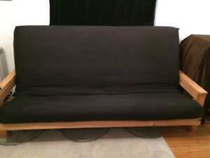 Futon and frame couch/bed