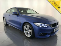2015 BMW 420D M SPORT DIESEL COUPE 1 OWNER SERVICE HISTORY FINANCE PX WELCOME
