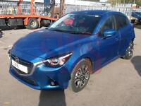 2016 Mazda 2 Sport Nav 1.5 DAMAGED REPAIRABLE SALVAGE