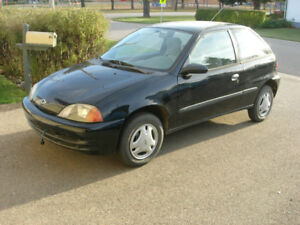 1995 Pontiac Firefly coupe Coupe (2 door)