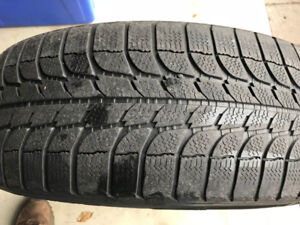 Used Michelin X-Ice Winter Tires & Steel Rims. 215/65/R16