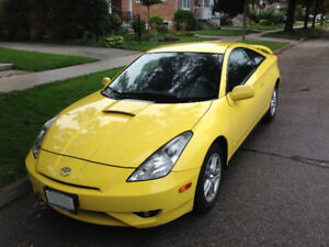 2003 Toyota Celica GT Manual Transmission (Super Yellow)