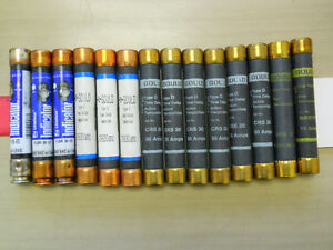 FUSES ELECTRICAL - 60 50 40 30 25 15 AMP