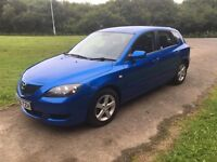Mazda 3 TS, 12 month MOT, 1 former keeper, low miles, service history, GREAT EXAMPLE.