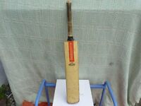 Gray Nicholls cricket bat.