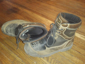 Royer size 13 Work boots with Metatarsal covers (removable)