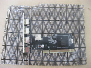 USB 2.0 480 Mbit/s (60 MB/s) 5-port PCI card