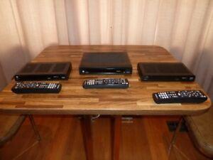 SHAW DIRECT HD SATELLITE RECEIERS (3)