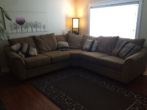 PRICE DROP - HUGE COMFY ALMOST NEW COUCH