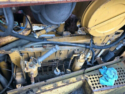 Caterpillar D8r 3406 Engine Runs Exc Cat 3406c 10r9821 222-5432
