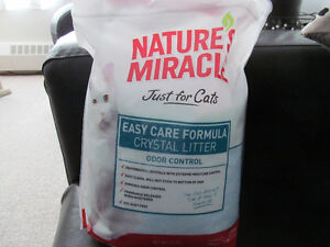 NEW - Natures Miracle Crystal Cat Litter
