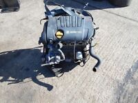 Vauxhall 1.8 engine z18xe code complete engine 80000 miles fits astra vectra zafira meriva