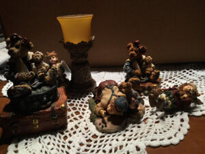 Boyd's bear collection - 5 pieces incl. 1 music box