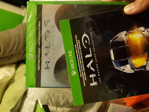 Halo 5 Guardians (BNIB) & Halo The Master Chief Collection