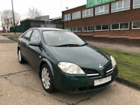 2002 NISSAN PRIMERA 2.0 CVT T-H Spec AUTOMATIC ( AA ) WARRANTY INCLUDED