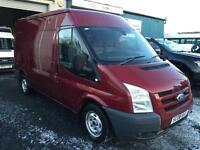Ford Transit glx model 2.2TDCi mwb 110PS fwd 2008 08 reg