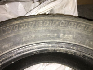 Pneus d'hiver Firestone WInterforce 205/60r16 Winter Tires