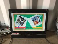 """Bush 19"""" hd freeweiw tv for sale with DVD"""