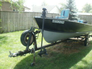 Complete 16 ft. Fishing Boat Package, Used