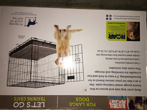 Brand new extra large kennel training cage