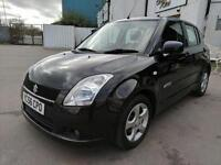 2006 SUZUKI SWIFT 1.5 GLX / Petrol / Manual / Hatch 5 door in Black