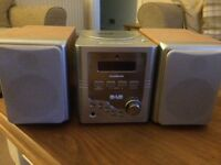 DAB CD PLAYER AND DAB RADIO