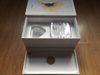 iPhone 6s box for white & gold & unused genuine Apple EarPods