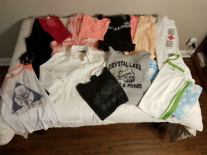 Lot of 14 Med Teen Girls Clothing - Used