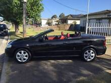 2002 Holden Astra 2.2 Convertible Red Leather REGO+3 YR WARRANTY Ingleburn Campbelltown Area Preview