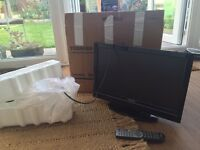 Toshiba Flat screen TV with built in DVD